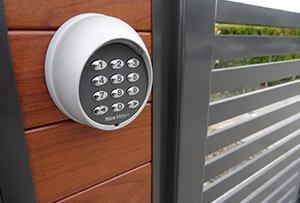 keypad entry options available